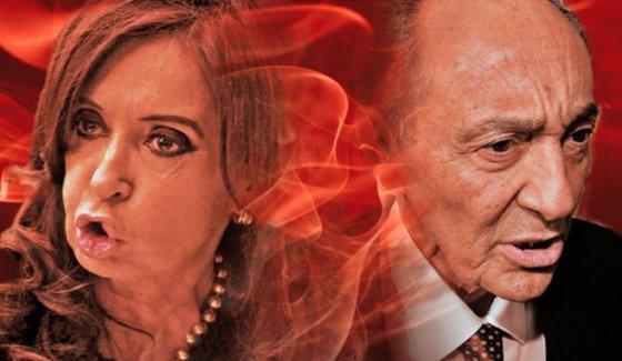 Cristina-Magnetto : las furias.