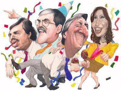 Resultado de imagen para cristina fernandez Y FERNANDEZ CARICATURAS